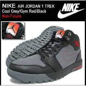 ナイキ NIKE スニーカー エア ジョーダン 1 トレック Cool Grey/Gym Red/Black メンズ (nike AIR JORDAN 1 TREK Non-Future 616344-004)