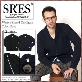 エスアールエス SRES ウィーブ ショール カーディガン(SRS Weave Shawl Cardigan)