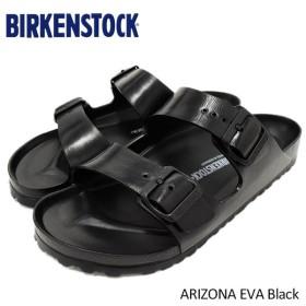 ビルケンシュトック BIRKENSTOCK サンダル メンズ 男性用 アリゾナ EVA Black(birkenstock ARIZONA EVA 幅広 レギュラー GE129421)