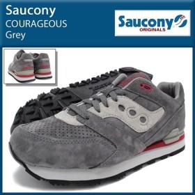 サッカニー Saucony スニーカー コライジャス Grey メンズ 男性(SAUCONY S70162-4 COURAGEOUS Grey ローカット)