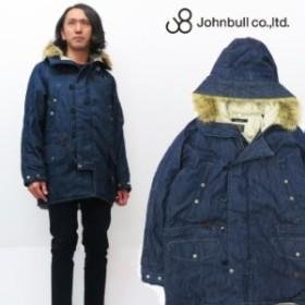 ジョンブル JOHNBULL デニム N-3B ジャケット ミリタリー コート フード ファー 16615
