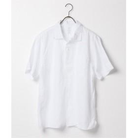 SAVE KHAKI UNITED SKU S/S COTTON LINEN VACATION SHIRT ホワイト M