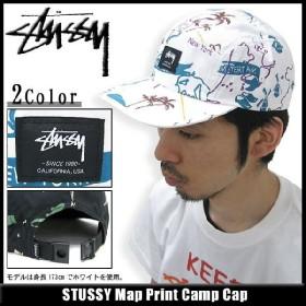 ステューシー STUSSY キャップ Map Print Camp キャップ ステューシー stussy
