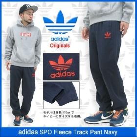 アディダス adidas SPO フリース トラック パンツ ネイビー オリジナルス(SPO Fleece Track Pant Navy Originals メンズ F84721)