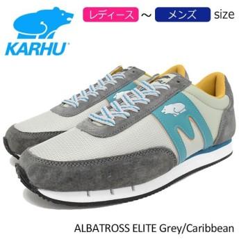 カルフ KARHU スニーカー レディース & メンズ アルバトロス エリート Grey/Caribbean(karhu ALBATROSS ELITE KH802534 F802534)