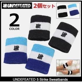 アンディフィーテッド UNDEFEATED リストバンド メンズ ファイブ ストライク スウェットバンド(5 Strike Sweatbands 男性用 538213)