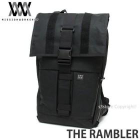 ミッションワークショップ ランブラー MISSION WORKSHOP THE RAMBLERバックパック バッグ かばん 防水 カラー:Black サイズ:約22-44L