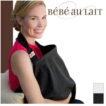 ベベオレ Bebe au Lait 授乳ケープ ナーシングカバー アイレット 出産祝い