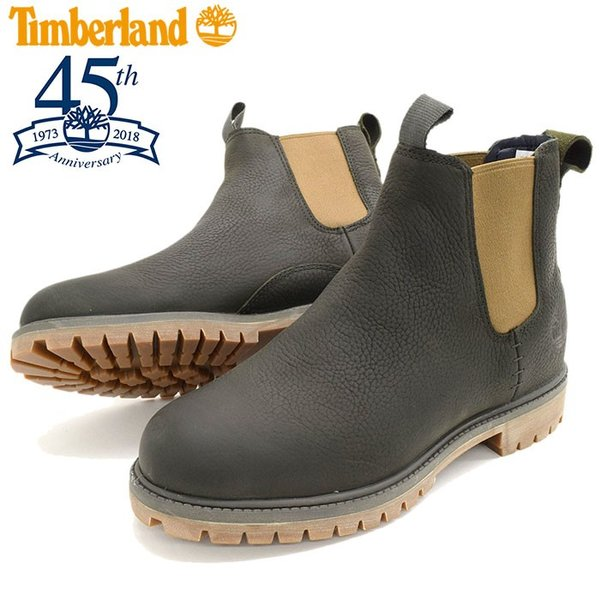 Timberland Icon Collection Premium Chelsea Boots Men 6 Dark