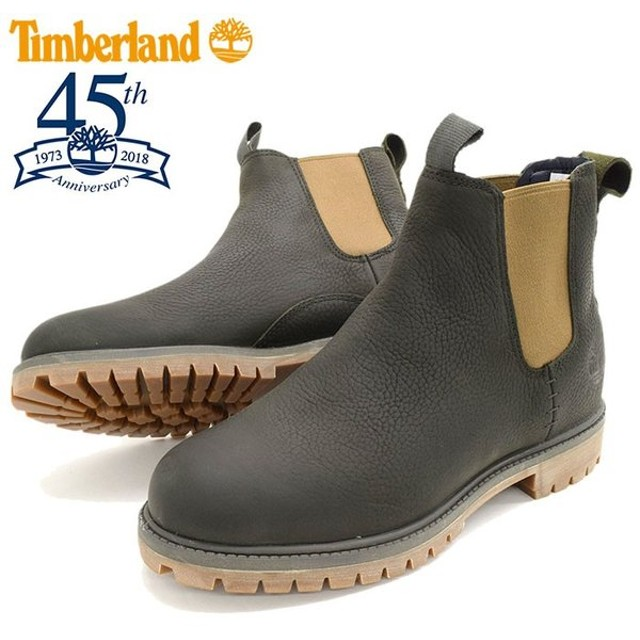 【日本正規品】ティンバーランド ブーツ Timberland メンズ 男性用 6インチ プレミアム チェルシー Dark Green Full Grain(A1UIB 45周年)