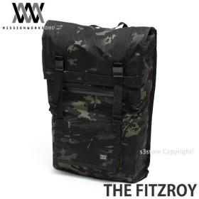 ミッションワークショップ フィッツロイ MISSION WORKSHOP THE FITZROYバックパック バッグ リュック カラー:Black Camo サイズ:40L