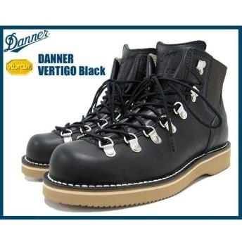ダナー Danner バーティゴ ブーツ 黒レザー メンズ(男性 紳士用)(D-7600S-BK VERTIGO)