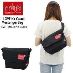 マンハッタン ポーテージ Manhattan Portage  I LOVE NY Casual Messenger Bag MP1605JRINY-35TH メッセンジャーバッグ S  ショルダーバッグ[BB]