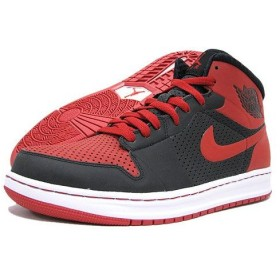 NIKE(ナイキ) AIR JORDAN ALPHA 1 Black/Red/White BRAND JORDAN