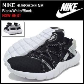 ナイキ NIKE スニーカー ハラチ NM Black/White/Black  限定 メンズ(男性用) (nike HUARACHE NM NSW BEST 705159-001)