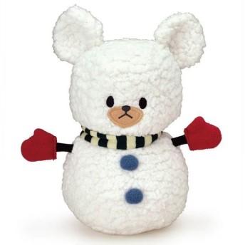 くまのがっこう ジャッキーのクリスマス 雪だるまジャッキー M ぬいぐるみ
