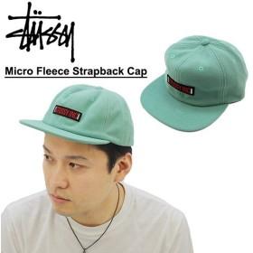 ステューシー STUSSY Micro Fleece Strapback Cap キャップ 帽子[BB]