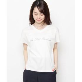 Airpapel / エアパペル 【洗える】ロゴ刺しゅうTシャツ