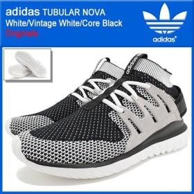 アディダス adidas スニーカー メンズ チュブラー ノヴァ White/Vintage White/Core Black オリジナルス(TUBULAR NOVA TUBULARNOVA S74918)