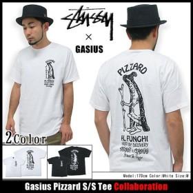 ステューシー STUSSY×GASIUS Gasius Pizzard Tシャツ 半袖 コラボ(stussy tee ガシアス Wネーム トップス メンズ・男性用 3902685)