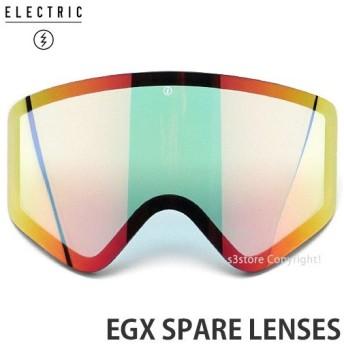 19md エレクトリック イージーエックス スペアレンズ ELECTRIC EGX SPARE 国内 交換用 スノーボード ゴーグル レンズ:GREY/RED CHROME JP