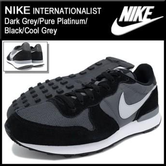 ナイキ NIKE スニーカー メンズ 男性用 インターナショナリスト Dark Grey/Pure Platinum/Black/Cool Grey(INTERNATIONALIST 631754-012)