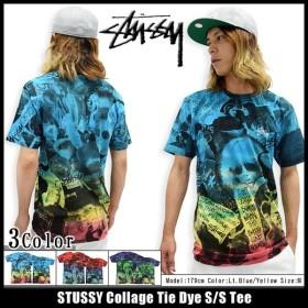 ステューシー STUSSY Tシャツ メンズ Collage Tie Dye 1903607 (タイダイ)