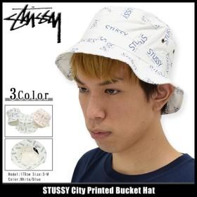 ステューシー STUSSY バケット ハット City Printed Bucket Hat 帽子(stussyhat メンズ・男性用 132765)