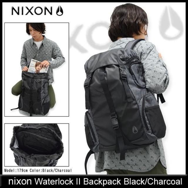 ニクソン nixon リュック ウォーターロック 2 バックパック ブラック/チャコール(Waterlock II Backpack メンズ レディース NC1952145)