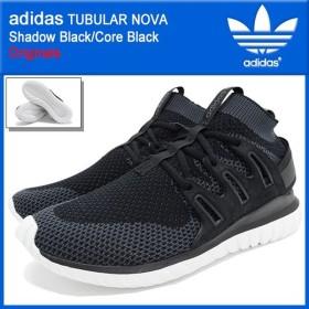 アディダス adidas スニーカー メンズ チュブラー ノヴァ Shadow Black/Core Black オリジナルス(TUBULAR NOVA Originals S74917)