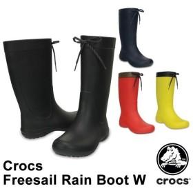 クロックス CROCS  クロックス フリーセイル レイン ブーツ ウィメン crocs freesail rain boot w  レディース  女性用[CC]