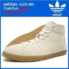 アディダス adidas アジー ミッド Chalk/Gum 限定 オリジナルス ブルー メンズ(adidas AZZIE MID Chalk/Gum リミテッド limited Originals BLUE G51009)
