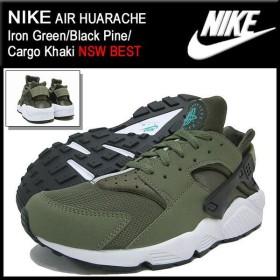 ナイキ NIKE スニーカー エア ハラチ Iron Green/Black Pine/Cargo Khaki 限定 メンズ(男性用) (nike AIR HUARACHE NSW BEST 318429-300)