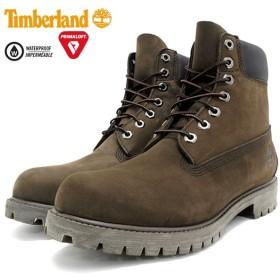 【日本正規品】ティンバーランド ブーツ Timberland メンズ アイコン 6インチ プレミアム ミディアム ブラウン ヌバック(10001 6inch Boot)