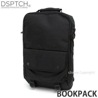 ディスパッチ ブックパック DSPTCH Bookpack バックパック バッグ リュック かばん 大容量 高品質 アメリカ カラー:Black サイズ:18L