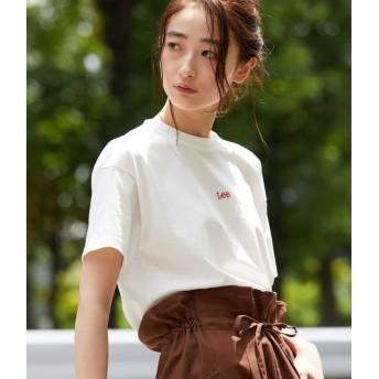 Lee×ViS コラボ ロゴTシャツ レディース