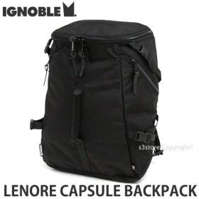 イグノーブル レノア カプセル バックパック ignoble LENORE CAPSULE BACKPACK メンズ リュック かばん カラー:Black サイズ:約27L