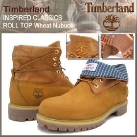 ティンバーランド Timberland ブーツ インスパイアド クラシックス ロールトップ ウィート ヌバック(6614R ROLL TOP Wheat Nubuck Boot メンズ)