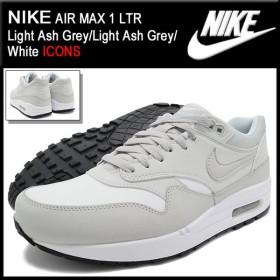 ナイキ NIKE スニーカー エア マックス 1 LTR Light Ash Grey/Light Ash Grey/White 限定 メンズ(男性用) (AIR MAX 1 LTR ICONS 654466-006)