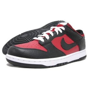 NIKE(ナイキ) DUNK LOW Varsity Red/Black/White icons Limited