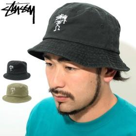ステューシー バケット ハット STUSSY Warrior Man Bucket Hat 帽子(stussyhat メンズ・男性用 132921 USAモデル 正規)