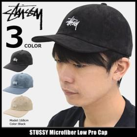 ステューシー キャップ 帽子 STUSSY Microfiber Low Pro Cap(ローキャップ ストラップバック メンズ・男性用 131754)