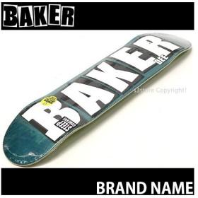 ベイカー BAKER BRAND NAME スケートボード スケボー デッキ 板 チーム ストリート パーク 初心者 プロ  カラー:DO Green サイズ:8.0x 31.5