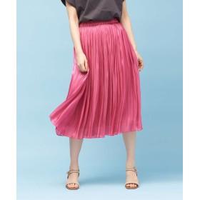 ルージュ・ヴィフ ラクレ サテンギャザースカート2 レディース ピンク 36 【Rouge vif la cle】