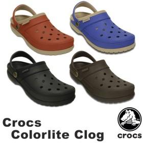 クロックス crocs  カラーライト クロッグ crocs colorlite clog    メンズ レディース 男性用 女性用 サンダル シューズ[BB]