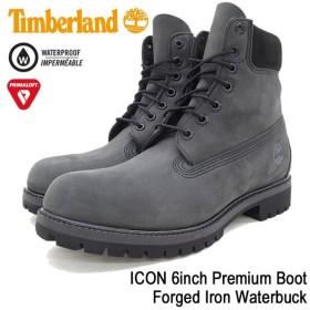 ティンバーランド Timberland ブーツ メンズ 男性用 アイコン 6インチ プレミアム Forged Iron Waterbuck(A1M2M ICON 6inch Premium Boot)