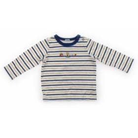 【ミキハウス/mikiHOUSE】Tシャツ・カットソー 70サイズ 男の子【USED子供服・ベビー服】(400636)