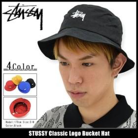 ステューシー バケット ハット STUSSY Classic Logo Bucket Hat 帽子(stussyhat メンズ・男性用 132769)