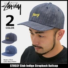 ステューシー STUSSY キャップ 帽子 Slub Indigo Strapback Cap(ストラップバック メンズ・男性用 131709)
