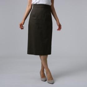 [マルイ] FABRICA 麻ブレンドミモレタイトスカート/アンタイトル(UNTITLED)